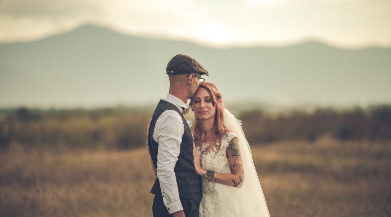 Le mariage romantique chic de Debbie & Matthieu