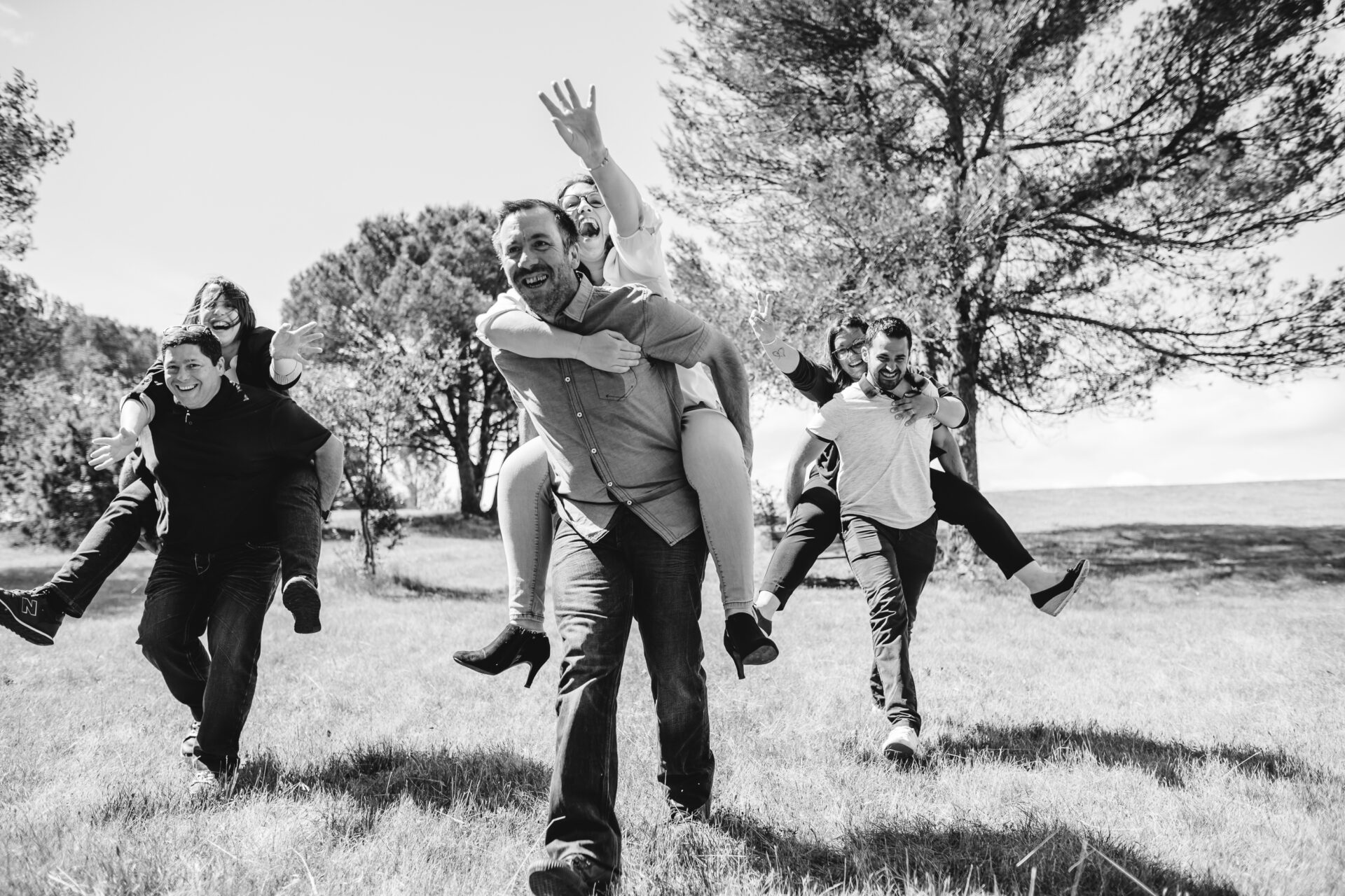 Une séance photo de famille au Lac de la Cavayère
